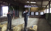 Laser Clay Pigeon Shooting, Archery, and Footgolf,  Package for Two or Four at Foylehov Activity Centre (Up to 57% Off)