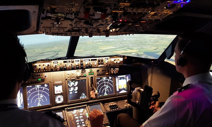 Virtual Flight Experience - Coventry: 30- or 60-Minute Boeing 737 Flight Simulator Experience at Virtual Flight Experience (Up to 57% Off)