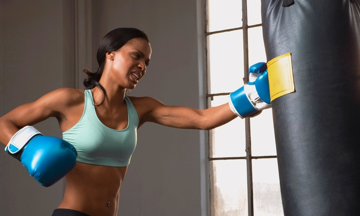 Kickboxing Fitclub - Multiple Locations: 5, 10, or 15 Drop-In Kickboxing Classes at Kickboxing Fitclub (Up to 88% Off)