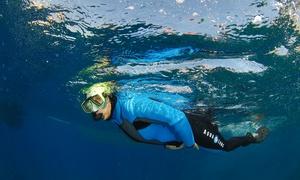 Aqua Evasion: Ballade en bateau et randonnée palmée dans les calanques de la côte bleue (4h) pour 2 personnes à 79 € chez Aqua Evasion
