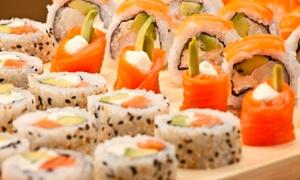Utamaro Sushi: Desde $259 por 30 o 60 piezas de salmón con envío en Utamaro Sushi
