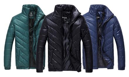 1 o 2 chaquetas acolchadas para hombre
