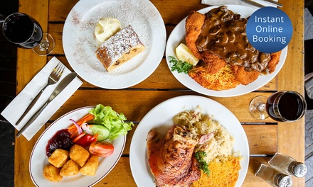 Two-Course Meal with Wine or Beer for Two ($47.50), Four ($95) or Six People ($142.50) at Una's (Up to $275.40 Value)