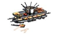 GOURMETmaxx Raclette, heißer Stein und Fondue in einem (40% sparen*)
