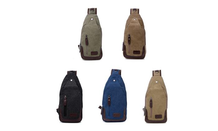 Canvas Shoulder Sling Bags: Canvas Shoulder Sling Bags