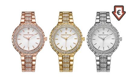 Con Blancos Diamantes Granton Decorado NaturalesEnvío Reloj 4 q34Rj5LA