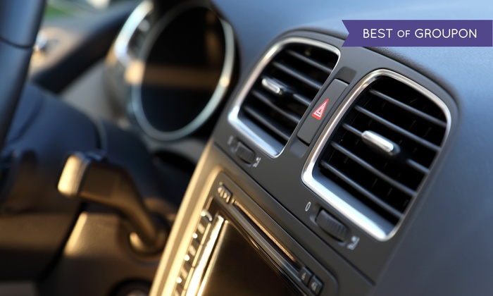 Fletcher's Tire & Auto Service - Multiple Locations: Air-Conditioning Service with Optional Oil Change at Fletcher's Tire & Auto Service (Up to 68% Off)
