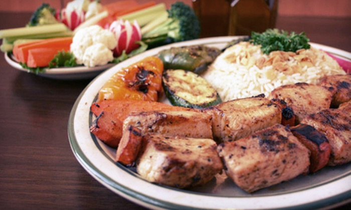 Alexandria Mediterranean Cuisine - Novi: $12 for $24 Worth of Mediterranean Food at Alexandria Mediterranean Cuisine