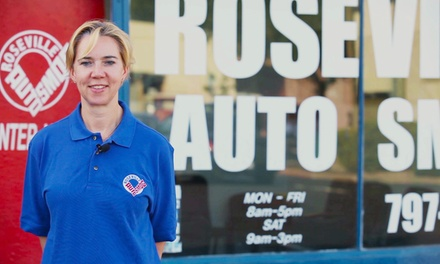 Smog Check for One Car or Pickup Truck at Roseville or San Juan Auto Smog (Up to 62% Off)