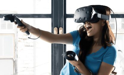 image for Choice of 30- or 60-Minute Virtual Reality Game for One, Two or Four at Altesc VR Arcade (Up to 50% Off)