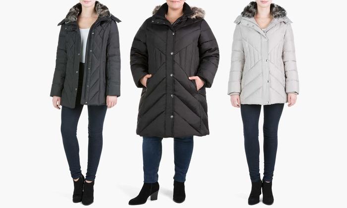 London Fog Down Coats. (Sizes S & M)