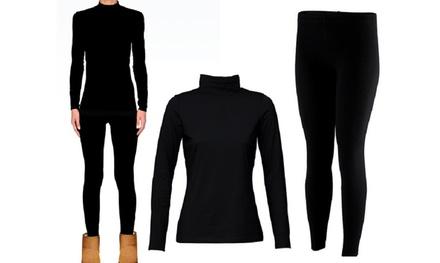 Set abbigliamento termico da donna