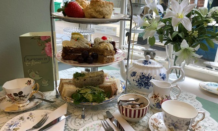 Afternoon Tea for Two or Four at Platform 29 Tea Rooms