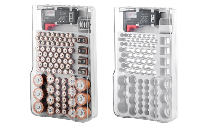 Superieur Up To 17% Off On Battery Storage Organizer | Groupon Goods