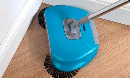 Beldray LA047151 Spinning Floor Sweeper, 105 cm, Stainless Steel