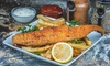 Two Small Fish Baskets; Valid Any Day for Carryout