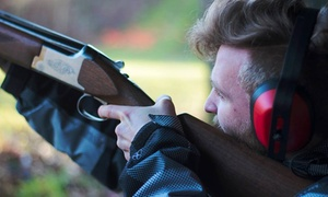 Into the Blue: Clay Pigeon Shooting Experience with 25 or 50 Cartridges at Into the Blue (Up to 34% Off)