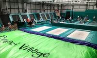 One-Hour Trampoline Park Access for up to Four at Bounce Village (30% Off)
