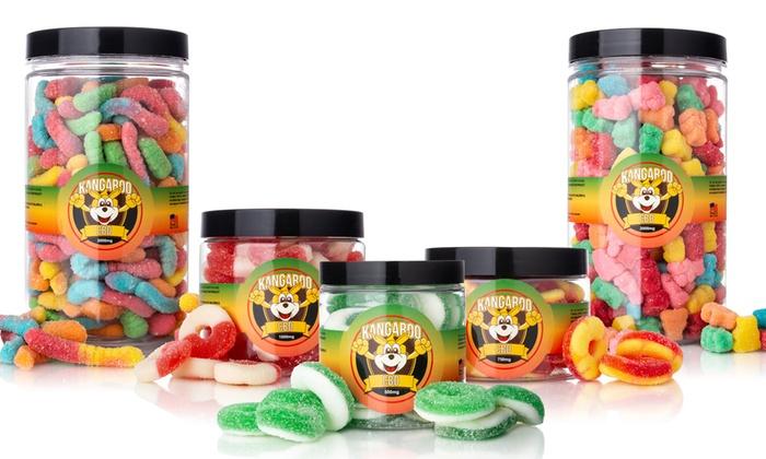 Organic CBD Gummies from CBD Kangaroo | Groupon