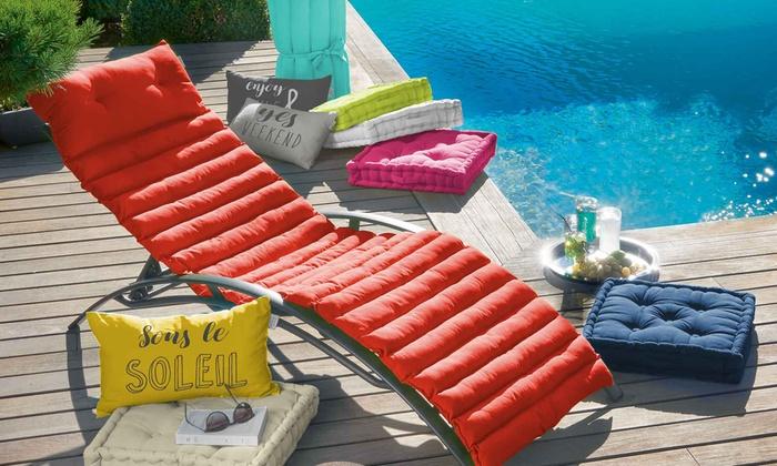Coussins bain de soleil Pacifique   Groupon Shopping 6f9278f78e81