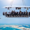 Dinner in the Sky and Magic Show