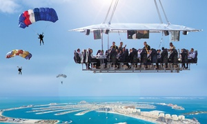Dinner in the Sky: Weekday or Weekend Dinner and Magic Show in the Sky (Up to 20% Off)