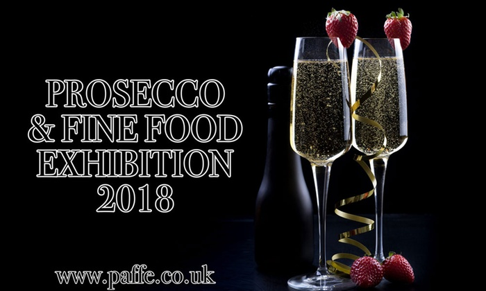 Prosecco & Fine Food Exhibition - Multiple Locations: Prosecco & Fine Food Exhibition, One Standard or VIP Ticket, 3 February - 23 May 2018 (Up to 33% Off)