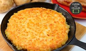 Don da Gula Culinárias Diversas: Don da Gula – Tucuruvi:batata rösti recheada (10 sabores) para 2 ou 4 pessoas