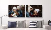 Toile photo personnalisée avec 6formats au choix sur Printerpix dès 3,95 € (jusquà 87% de réduction)