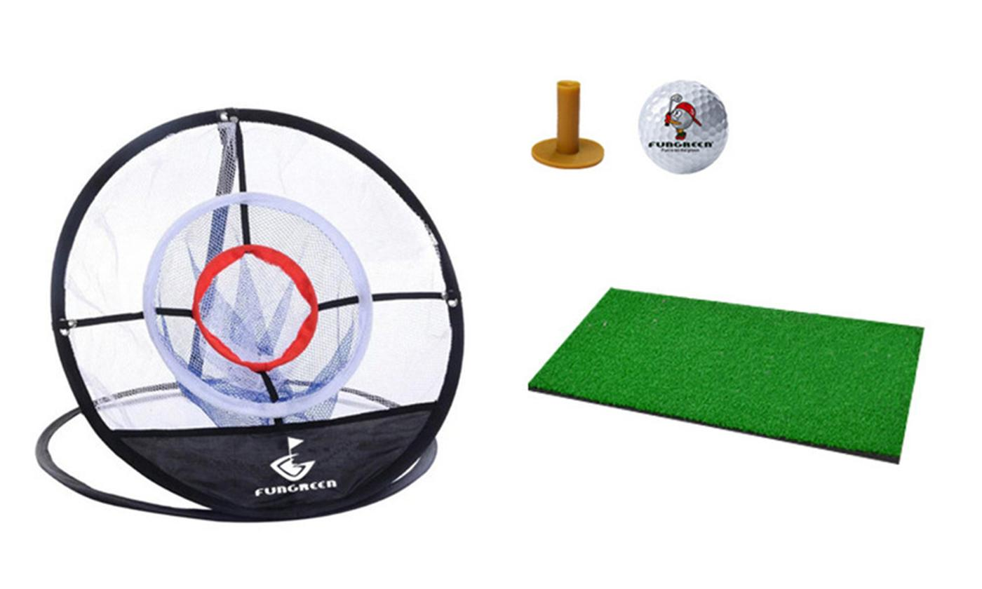 Golf Trainning Target Practise Net with Mat