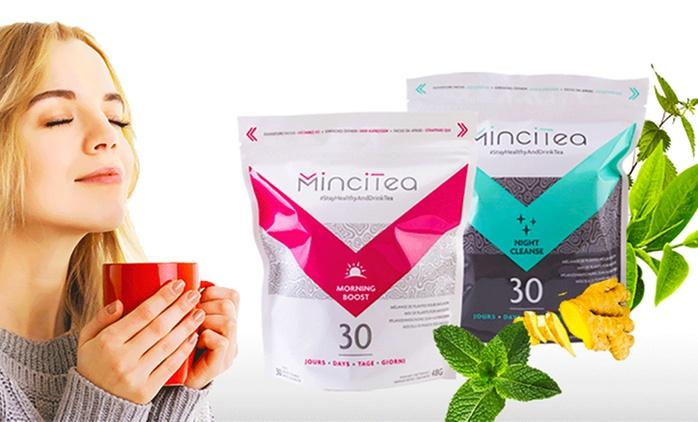 Fino a 8 confezioni di Tè dimagrante e depurante in bustine, per mattina e sera da 18,99 € (fino a 50% di sconto)
