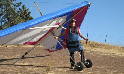 image for $135 for a 4-Hour Hang-Gliding Lesson for One Person Any Day of Week – Big Air Hang Gliding ($185 Value)