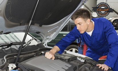 Major Car Service with Wheel Alignment for 1 ($59) or 2 Cars ($99) at Churchill Tyre Service, Kilburn (Up to $590 Value)