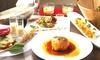 大阪府 / 京橋 香潤鶏のスパイスマヨ焼きと名物海老パンのコース+飲み放題120分