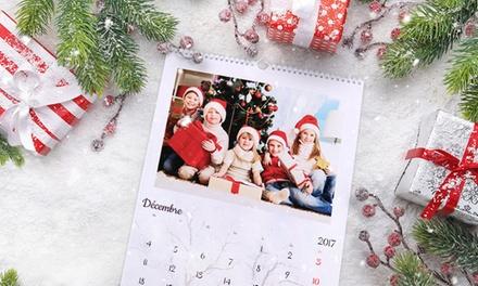 1, 3 , 6 ou 10 calendriers photo personnalisés, format A4 portrait, avec Colorland dès 1,99 € (jusquà 90% de réduction)