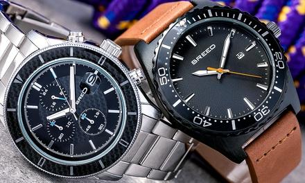 f9c413e35ca6 Relojes para hombre Breed Maverick o Ranger con fecha