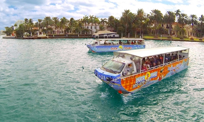 South Beach Duck Boat Tours