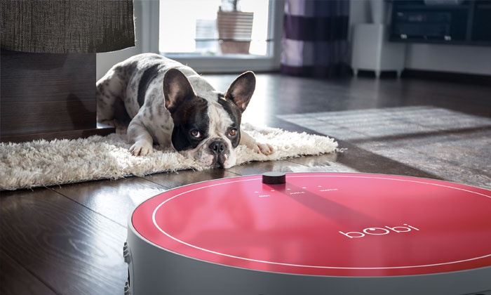 Groupon Goods: bObi Pet Robotic Vacuum Cleaner by bObsweep (Shipping Included)