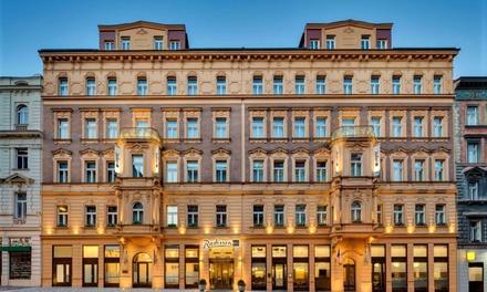 Praga 5*: camera o suite con colazione e buono opzionale di 48€ a 98€euro