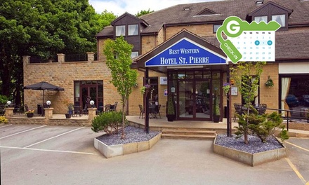 Wakefield: Standard Double Room for Two with Breakfast and Option for Wine or Dinner at Best Western Hotel St Pierre