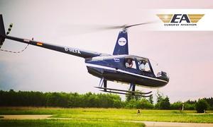 Eurofly Aviation GmbH: Hubschrauber-Rundflug über Dresden und das Umland für 1 bis 2 Personen bei Eurofly Aviation (bis zu 19% sparen*)