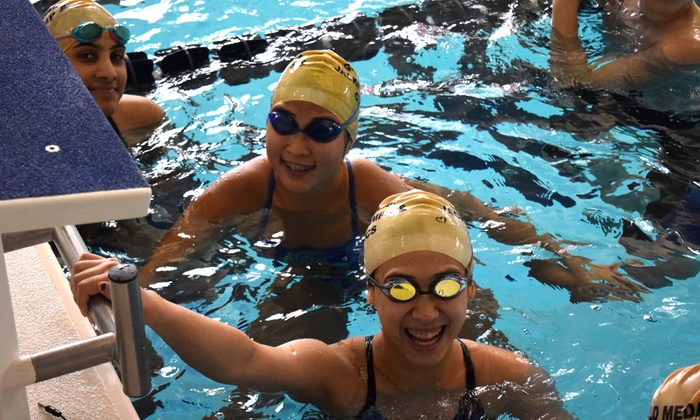 Gold Medal Jacket Swim Camps - Georgia Tech Aquatic Center : 4 Days of Competitive Swim Camp or Bounce and Splash Day Camp for Ages 8-18 at Georgia Tech (Up to 40% Off)