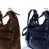 AFONiE Soft Genuine-Leather Shoulder Bag