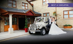 The Red Hall Hotel: Wedding Package for 50 Day and 50 Evening Guests at The Red Hall Hotel
