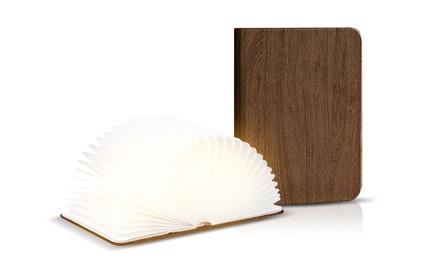 1 o 2 lampade a forma di libro disponibile in 2 dimensioni