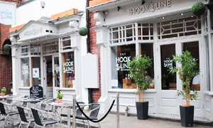 The Hook and Line: Two-Course A La Carte Seafood Meal for Two or Four at The Hook and Line (Up to 50% Off)
