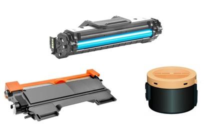 Toner compatibili per modelli Epson, Samsung, HP, Brother