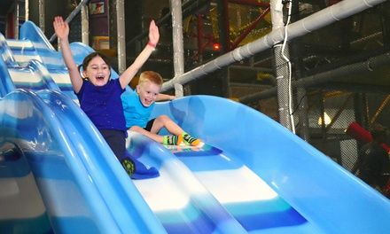 One or Two 90-Minute Passes, Valid Monday–Friday at Uptown Jungle Fun Park (Up to 29% Off)