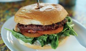 Missy Moos: Award-Winning Burger and Chips Plus Milkshake for 1 ($11) or 4 People ($40) at Missy Moos, 2 Locations (Up to $88 Value)
