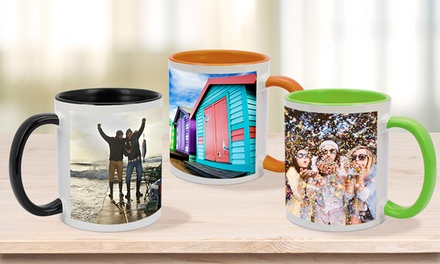 for a Personalised Mug, Mouse Pad, Jigsaw Puzzle or Coaster Don't Pay up to $44.95
